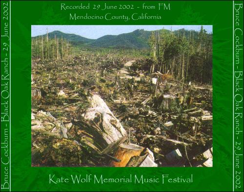 Bruce Cockburn 2002 Kate Wolf Memorial Music Festival Laytonville CA